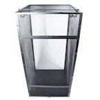Black Aluminum Screen Cage (XL) 24x24x48