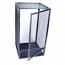 Black Aluminum Screen Cage (Medium) 16x16x30