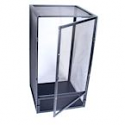 Black Aluminum Screen Cage (Large) 18x18x36