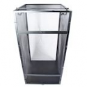Black Aluminum Screen Cage (XL) 24x24x48